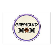 Greyhound Dog Mom Postcards (Package of 8)