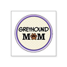 Greyhound Dog Mom Sticker