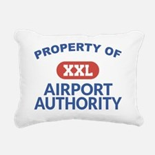 Property of Airport Auth Rectangular Canvas Pillow