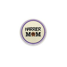 Harrier Dog Mom Mini Button