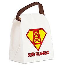 SUPERROUGHNECK Canvas Lunch Bag