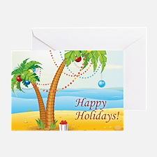 Palm Tree Holiday Greeting Card