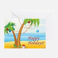 Palm Tree Holiday Greeting Cards (Pk of 10)