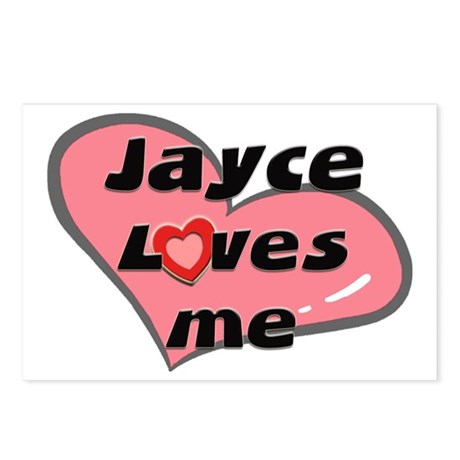 jayce loves me Postcards (Package of 8)