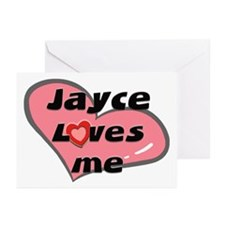 jayce loves me  Greeting Cards (Pk of 10)