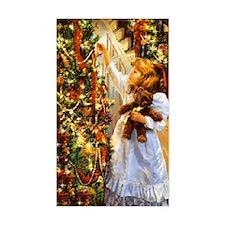 Vintage Christmas Scene Decal