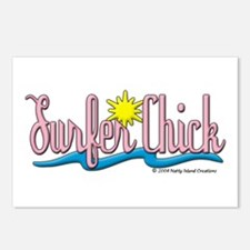 Surfer Chick Postcards (Package of 8)