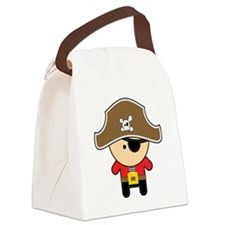 Cute Pirate Canvas Lunch Bag