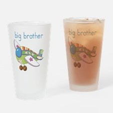 Airplane Big Brother Drinking Glass