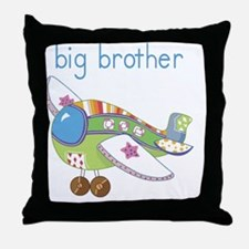 Airplane Big Brother Throw Pillow