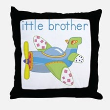Airplane Little Brother Throw Pillow