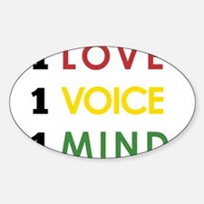 NEW-One-Love-voice-mind4 Decal