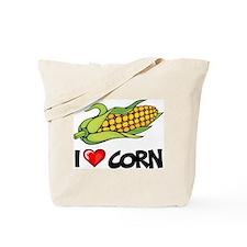 I Love Corn Tote Bag