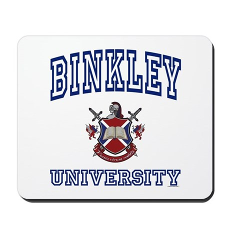 BINKLEY University Mousepad