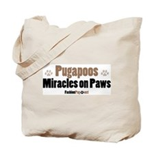 Pugapoo dog Tote Bag