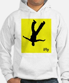 iFly <br>Freeflyer Hoodie (white, gray)