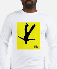 iFly <br>Freeflyer Long Sleeve T (white, gray)