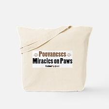 Poovanese dog Tote Bag