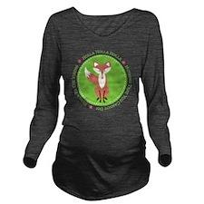 Holla Holla Vixen Long Sleeve Maternity T-Shirt