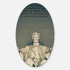 Lincoln Memorial Decal