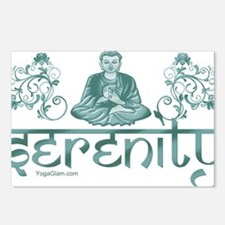 serenity_buddha_dark Postcards (Package of 8)