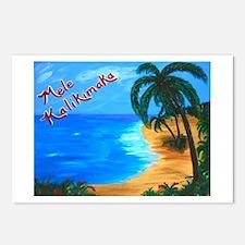 Mele Kalikimaka Cards (Package Of 8)