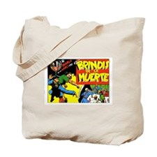 El Diablo Retro Art Tote Bag