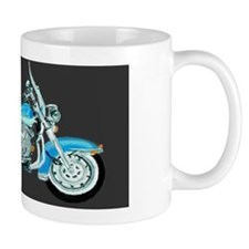Blue Harley Small Mug