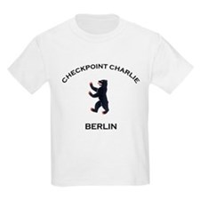 Checkpoint Charlie Kids T-Shirt