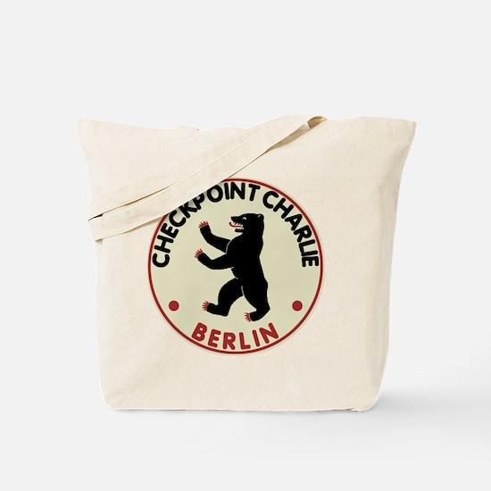 Checkpoint Charlie Tote Bag