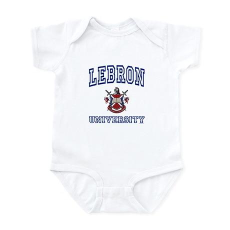 LEBRON University Infant Bodysuit