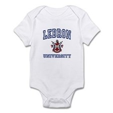 LEBRON University Infant Bodysuit