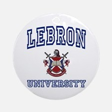 LEBRON University Ornament (Round)