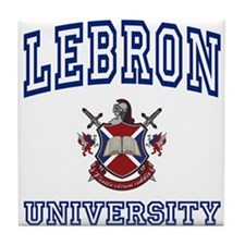 LEBRON University Tile Coaster