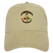 Army - 91st Evacuation Hospital w SVC Ribbon Baseball Cap