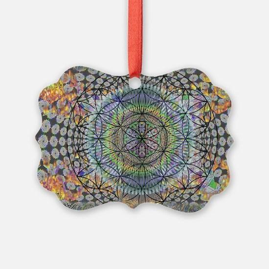 420 brain vaporizer magic portal Ornament