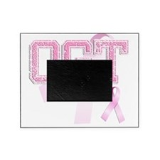 OGT initials, Pink Ribbon, Picture Frame