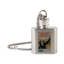 Have you got what it takes to fill  Flask Necklace