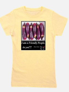 Friendly People Girl's Tee