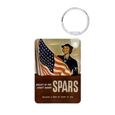 Enlist in the Coast Guard  Keychains