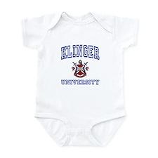 KLINGER University Infant Bodysuit