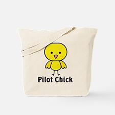 Pilot Chick Tote Bag