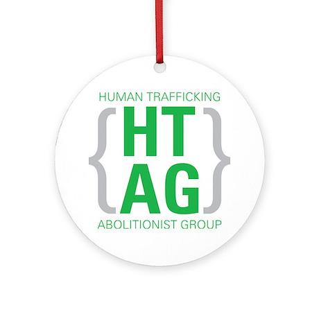 HTAG Emblem Round Ornament