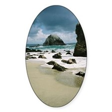 Walk by the sea 2 Decal