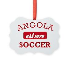 Angolan Soccer designs Ornament