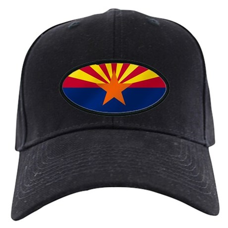 Arizona State Flag Black Cap