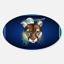 Wall Peels Midnight Mountain Lion Decal
