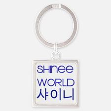 shineeworld Square Keychain