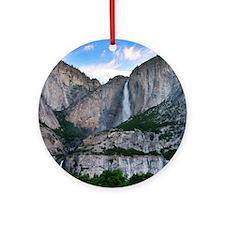Yosemite Falls Round Ornament