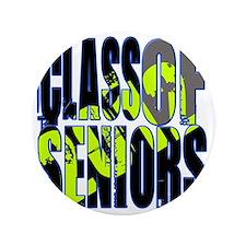 """Class of 2012 Seniors 3.5"""" Button"""